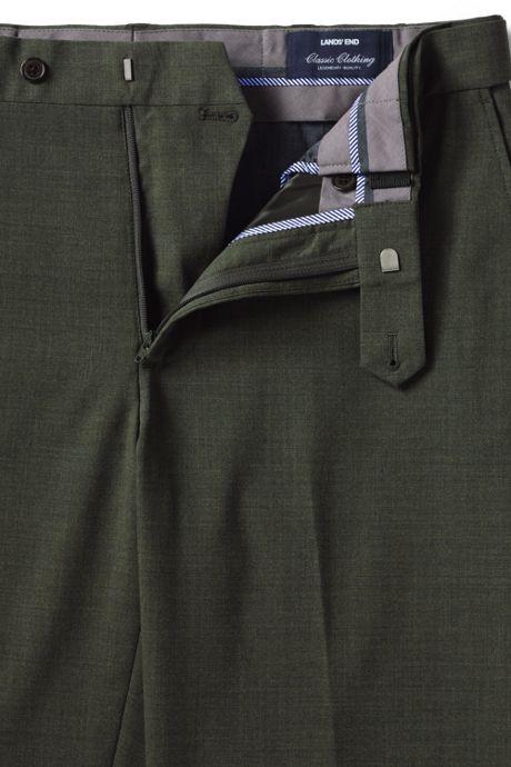 Men's Comfort Waist Comfort-First Year'rounder Wool Pants
