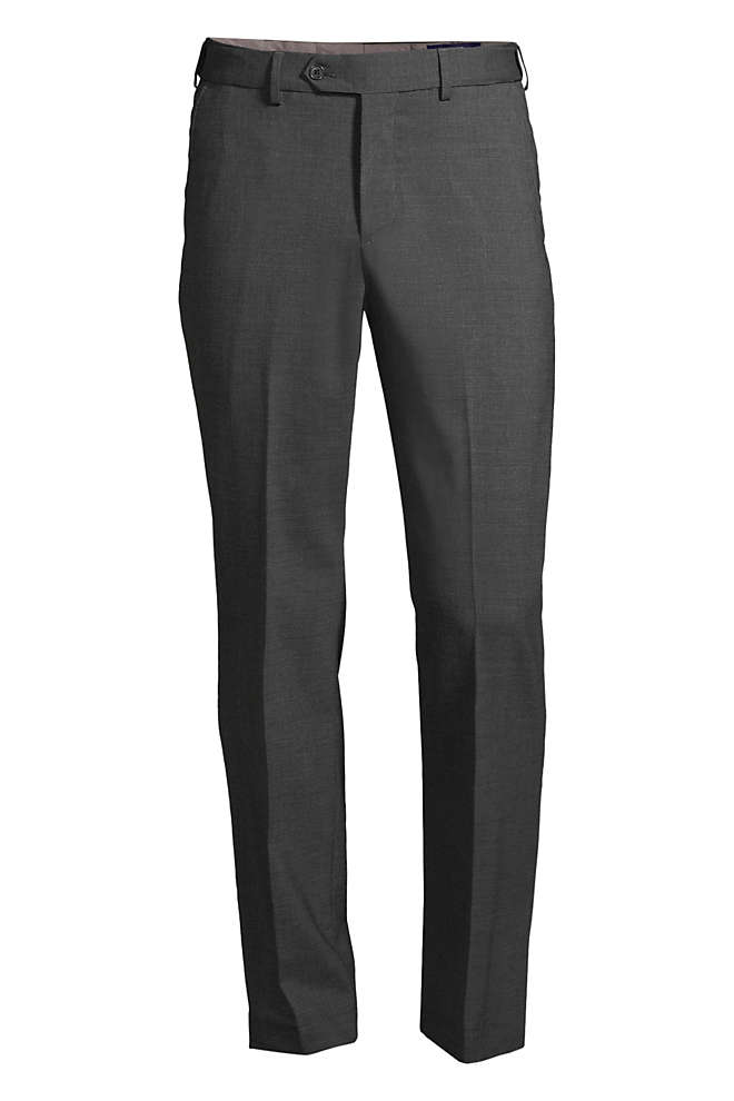 Men's Big and Tall Comfort Waist Comfort-First Year'rounder Wool Pants, Front