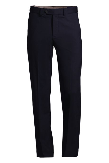 Men's Big and Tall Comfort Waist Comfort-First Year'rounder Wool Pants