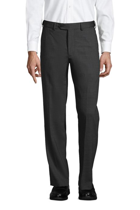 Men's Long Comfort Waist Comfort-First Year'rounder Wool Pants