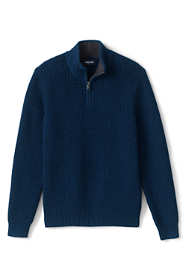 Men's Cotton Drifter Marl Quarter Zip Sweater