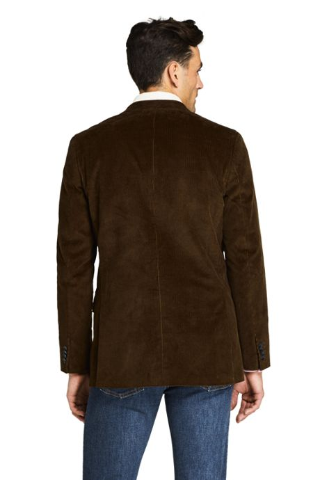 Men's Tailored Fit 10 Wale Stretch Corduroy Sport Coat