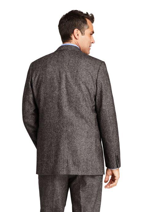 Men's Traditional Fit Wool Birdseye Sport Coat