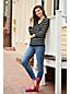 Pull Rayé Effet Cache-Coeur en Cachemire, Femme Stature Standard
