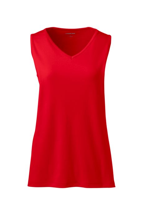 Women's Cotton V-neck Tank Top
