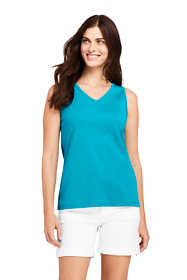 Women's Cotton V-neck Tank Top