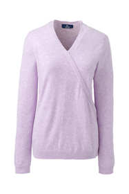 Women's Cashmere V-neck Wrap Sweater