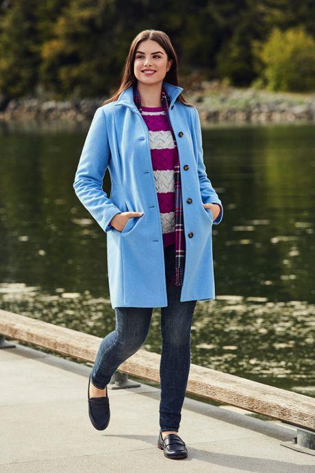 Women's Plus Size Cotton Cable Drifter Crewneck Sweater - Stripe