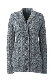 Women's Plus Size Cotton Drifter Shawl Cardigan Sweater