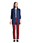 Women's Petite Drifter Cotton Cable Shawl Collar Cardigan