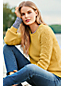 Women's Petite Lofty Blend Cabled Bishop Sleeve Jumper