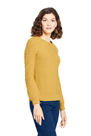 Women's Cotton Blend Sweater Texture