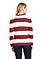 Women's Plus Striped Cotton Cable Jumper