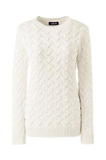 Zopfmuster-Pullover DRIFTER für Damen