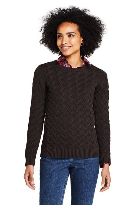 Women's Tall Drifter Cotton Crew Neck Sweater