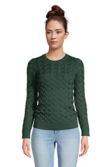 Pull Drifter Pur Coton, Femme