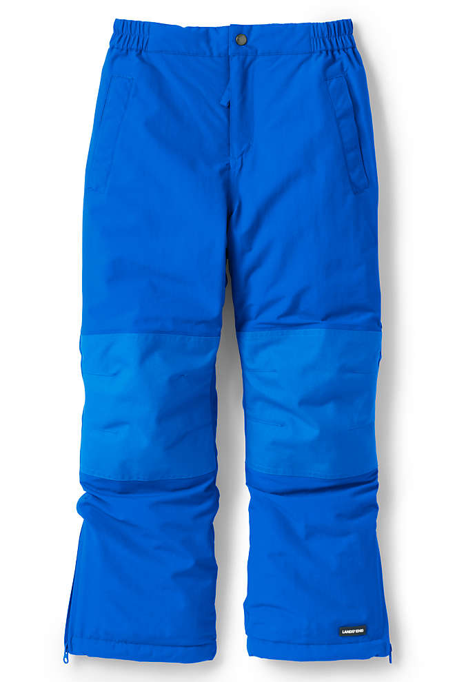 Kids Slim Squall Waterproof Iron Knee Winter Snow Pants, Front