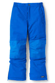 Kids Slim Squall Waterproof Iron Knee Winter Snow Pants