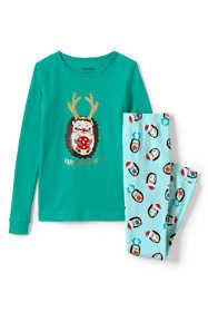 Toddler Girls Graphic Snug Fit Pajama Set