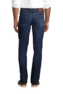 Men's Comfort Waist Traditional Fit Comfort-First Jeans, Back