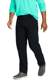 Men's Traditional Fit Black Jeans