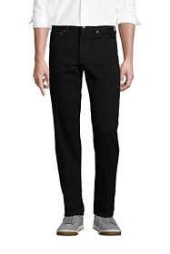 Men's Traditional Fit Black Jeans