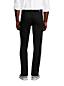Jean Droit Square Rigger Ourlets Sur-Mesure Noir, Homme Stature Standard