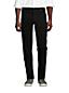 Jean Noir Taille Confort Square Rigger Ourlets Sur-Mesure, Homme Stature Standard