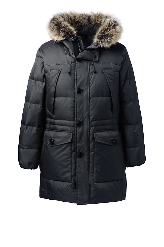 Men's Rusk Winter Down Parka, Front