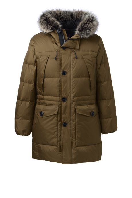 Men's Tall Rusk Winter Down Parka