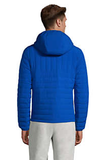 Men's Tall Hooded 800 Down Jacket, Back