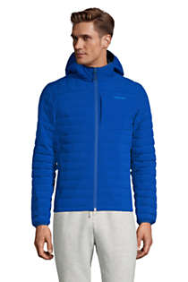 Men's Tall Hooded 800 Down Jacket, Front