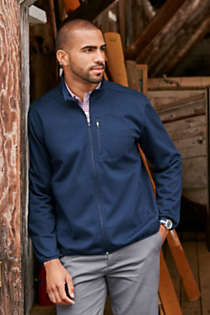 Men's Tall Marinac Windproof Fleece Jacket, alternative image