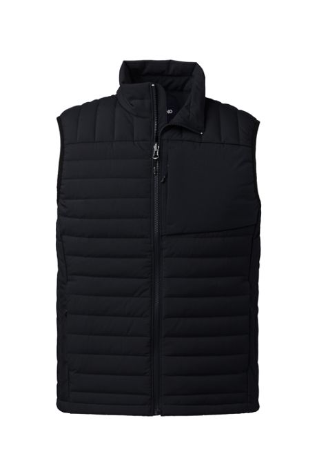 Men's Tall Packable 800 Down Vest