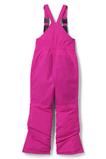 Kids Slim Squall Waterproof Iron Knee Bib Snow Pants, Back