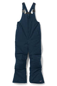 School Uniform Little Kids Squall Waterproof Iron Knee Bib Snow Pants