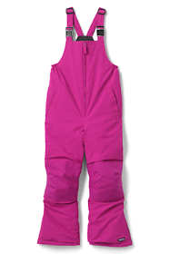 School Uniform Kids Slim Squall Waterproof Iron Knee Bib Snow Pants