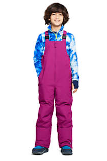 Kids Slim Squall Waterproof Iron Knee Bib Snow Pants, Unknown
