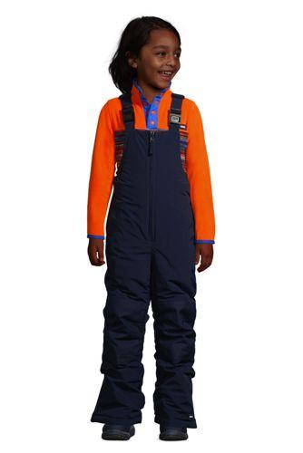 Kids Slim Squall Waterproof Iron Knee Bib Snow Pants