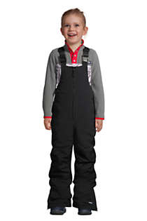 Little Kids Squall Waterproof Iron Knee Bib Snow Pants, Front