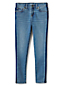 Girls' Iron Knees Side Stripe Skinny Jeans