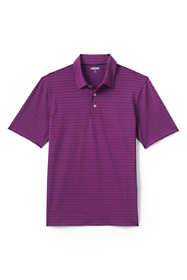 Men's Tall Short Sleeve Texture Comfort-First Golf Polo