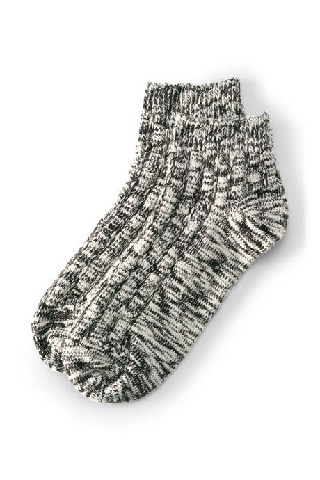Women's Winter Marled Ankle Socks