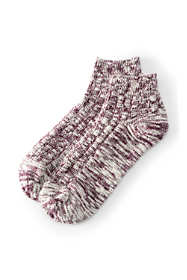 School Uniform Women's Winter Marled Ankle Socks