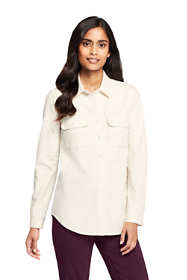 Women's Petite Denim Shirt