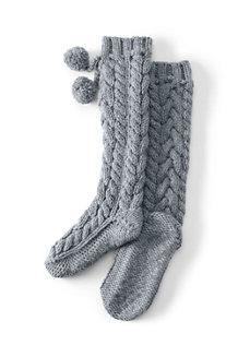 Chaussettes Tricotées Main, Femme