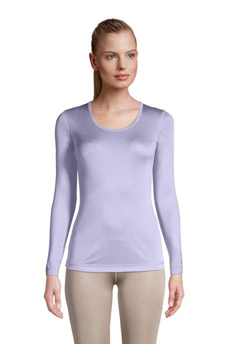 Women's Petite Silk Interlock Scoopneck