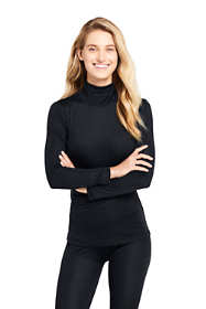 Women's Silk Interlock Turtleneck