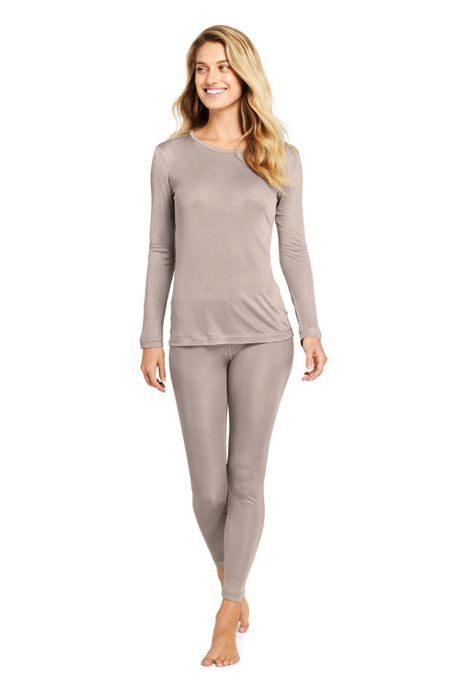 Women's Silk Interlock Crewneck