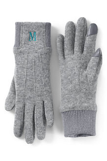 Handschuhe aus Wollmix für Damen